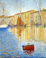 The Red Buoy, Saint-Tropez, 1895