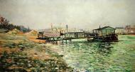 The Seine at Quai St. Bernard, 1886
