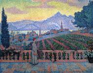 The Terrace, Saint-Tropez, 1898