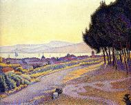 The Town at Sunset (Saint-Tropez), 1892