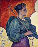 Woman with a Parasol (Berthe Signac), 1893