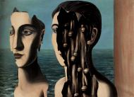 1927 Magritte Le Double Secret, 114x162 cm